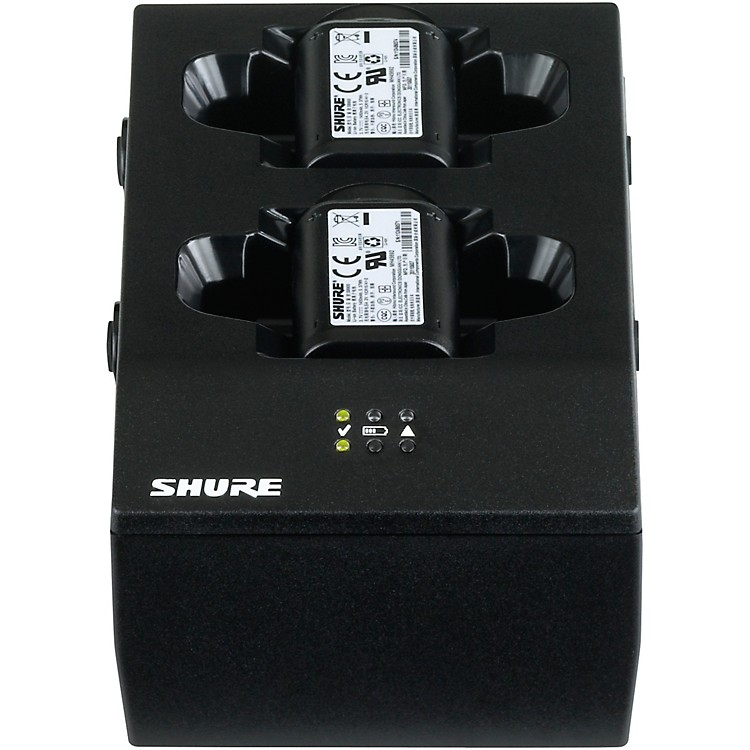 ShureSBC200 Dual-Docking Battery Charger - US Power Supply Included