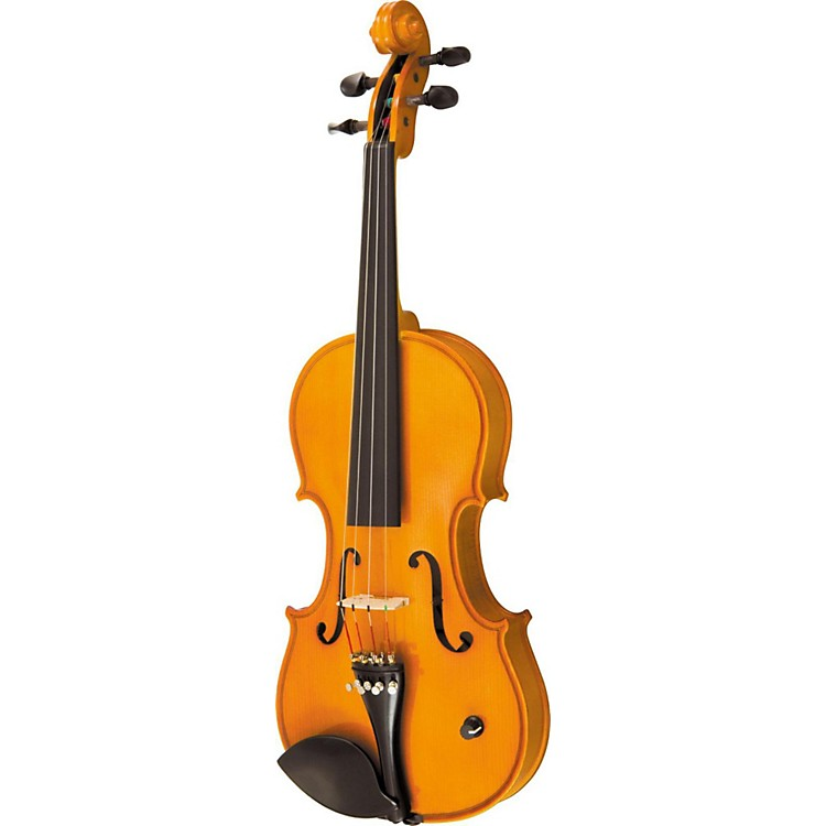 silver creek sc3b acoustic electric violin amber brown 4 4 with soft case music123. Black Bedroom Furniture Sets. Home Design Ideas