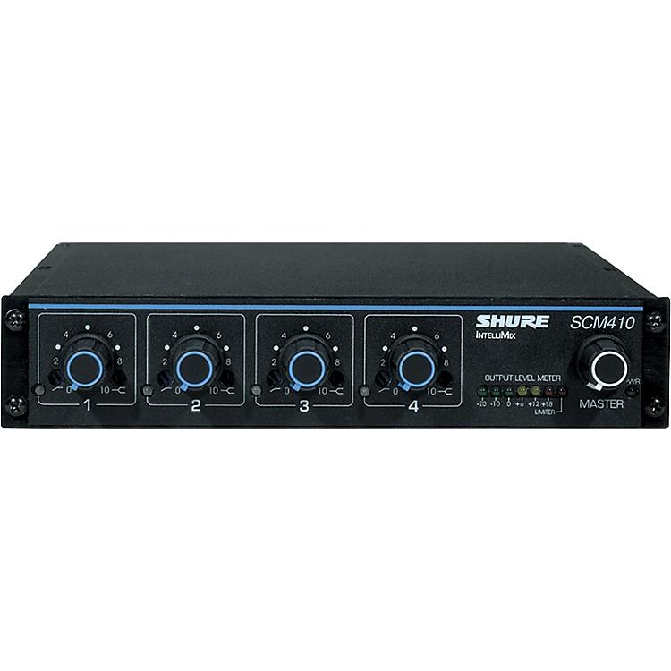 ShureSCM410 4-Channel Automatic Mixer