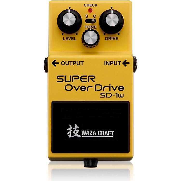 BossSD-1W Super Overdrive Waza Craft Guitar Effects Pedal888365608334