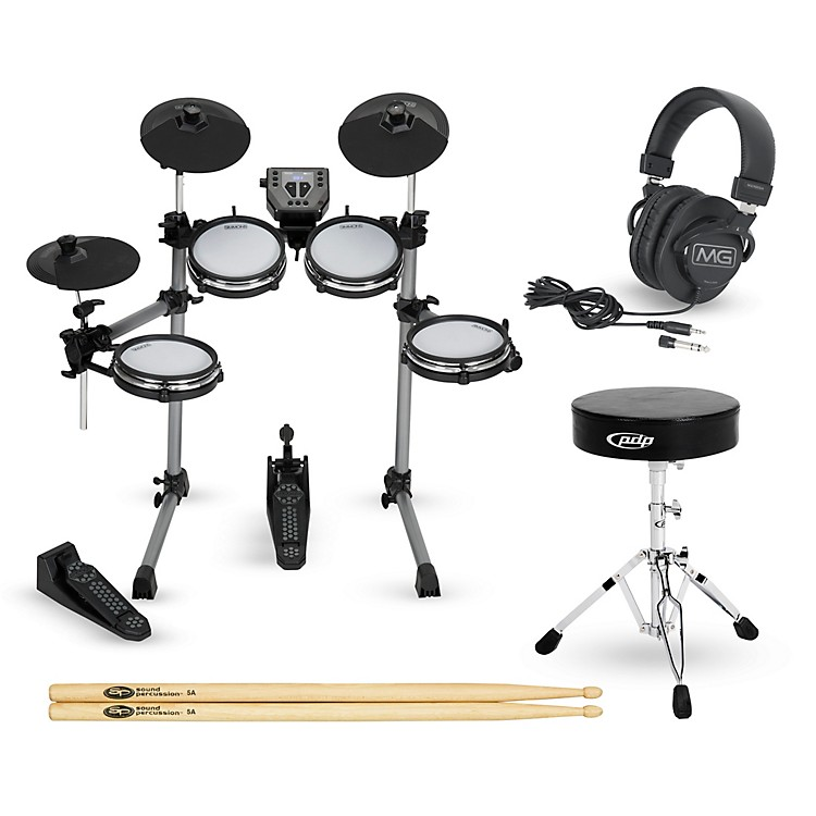 SimmonsSD350 Complete Electronic Drum Set with Mesh Pads