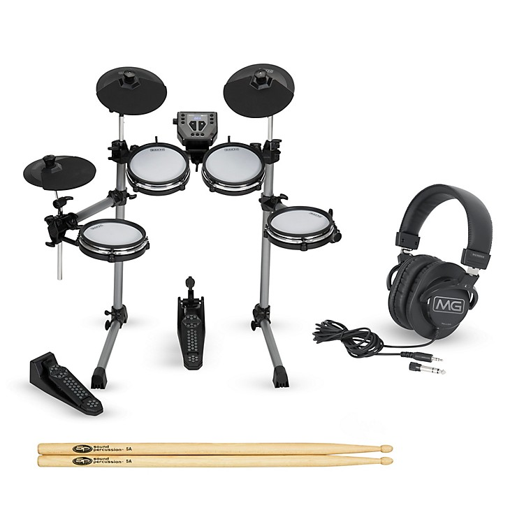 simmons sd350 electronic drum kit with mesh pads starter set music123. Black Bedroom Furniture Sets. Home Design Ideas