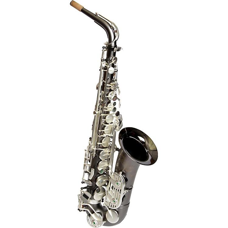 Sax DakotaSDA-XL-120 Professional Alto Saxophone Satin Silver KeysGray Onyx
