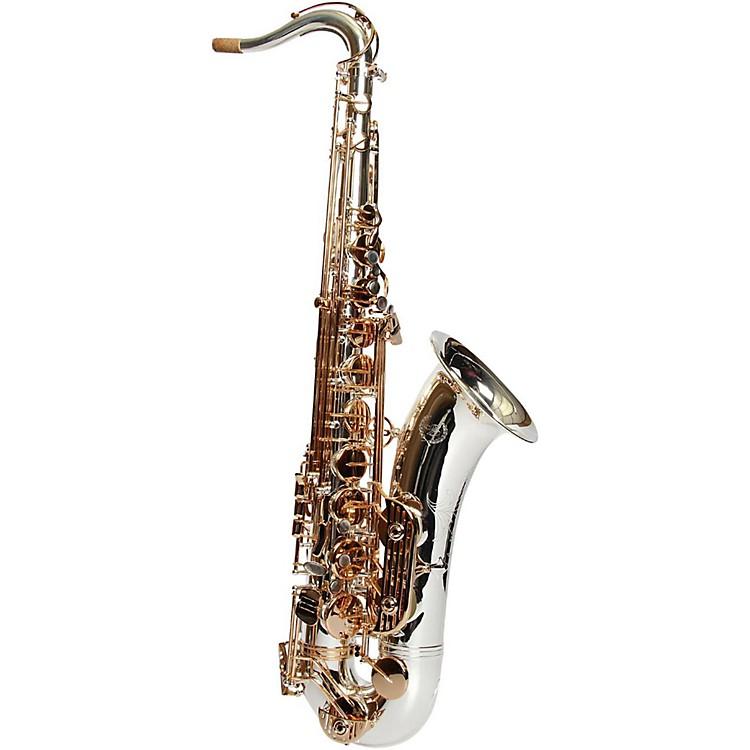 Sax DakotaSDA-XL-230 SP Professional Tenor Saxophone Gold Plated Keys and TrimSilver Plate