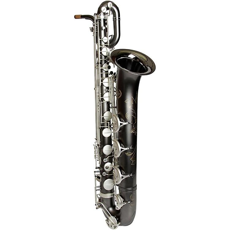 Sax DakotaSDB-1400 Professional Baritone SaxophoneGray Onyx