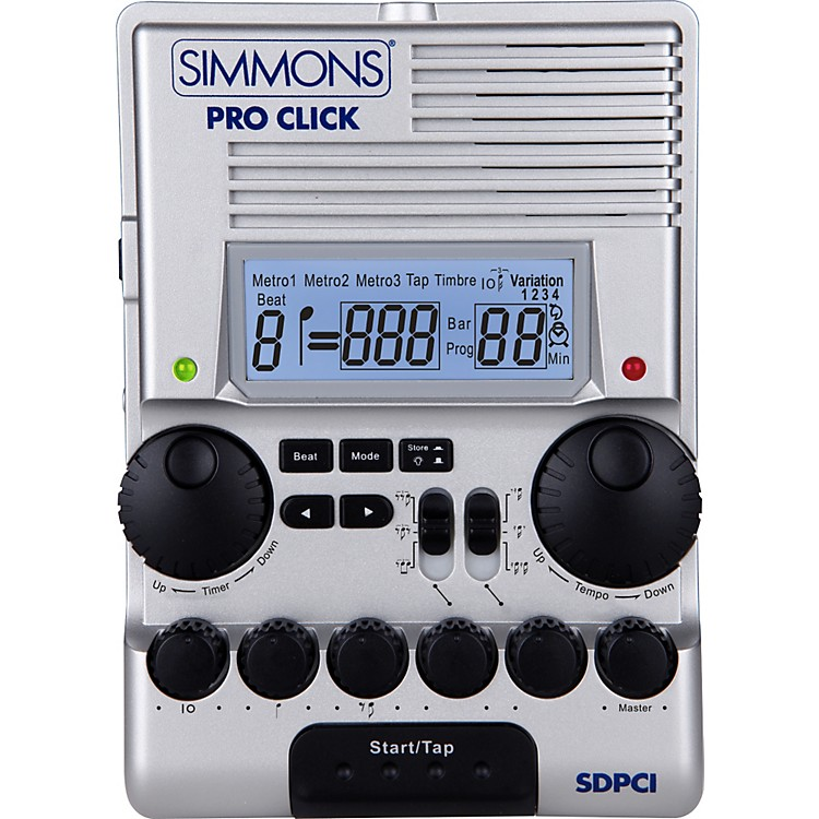 SimmonsSDPC1 Pro Click Metronome