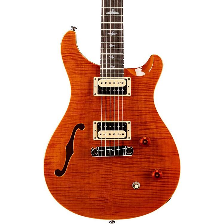 PRSSE Custom 22 Semi-Hollow Electric GuitarOrange