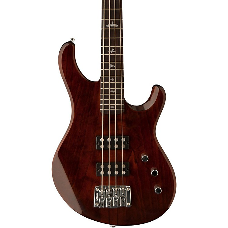 PRS SE Kingfisher Electric Bass Guitar Tortoise Shell