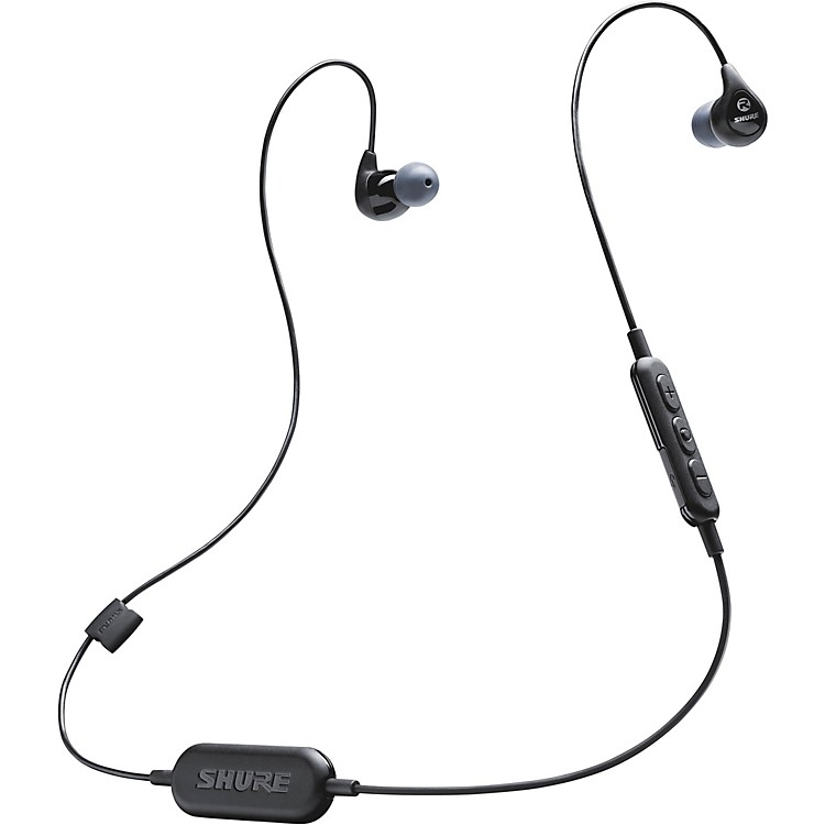 ShureSE112-K-BT1 Wireless Sound-Isolating Earphones with Bluetooth