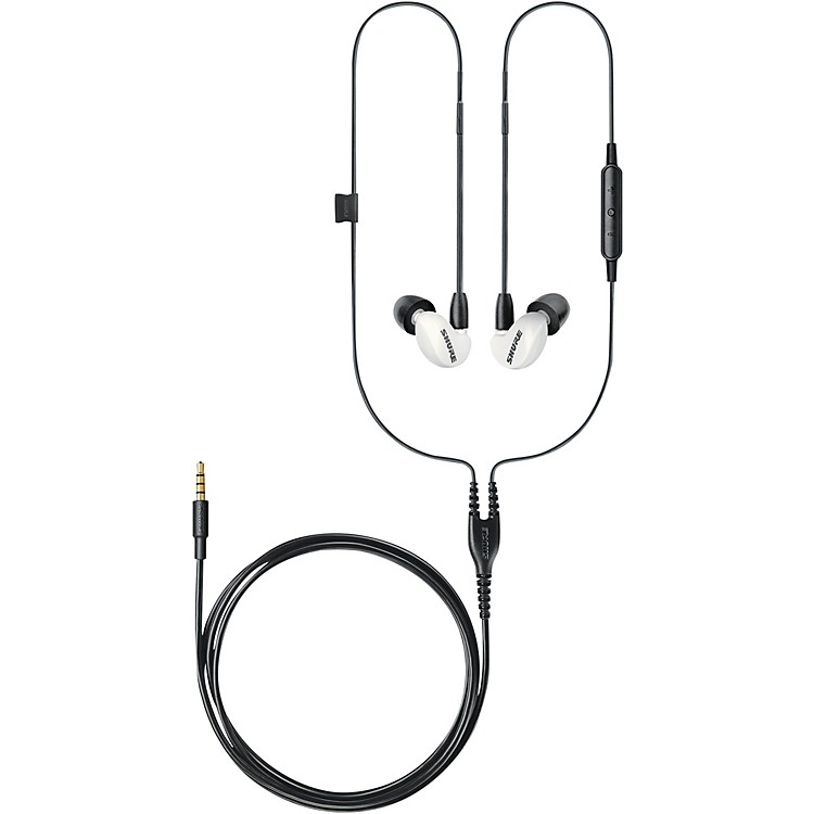 Shure SE215 Special Edition Sound Isolating Earphones White