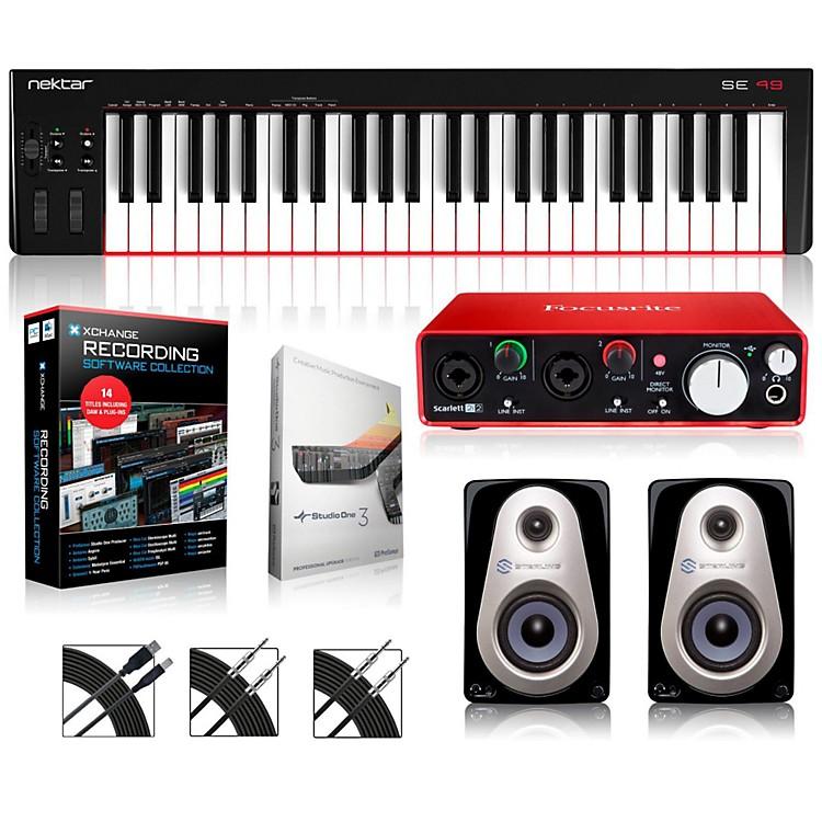 NektarSE49 49-Key USB MIDI Keyboard Controller PackagesIntermediate Production Package