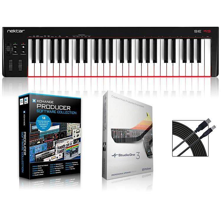 NektarSE49 49-Key USB MIDI Keyboard Controller PackagesProduction Package