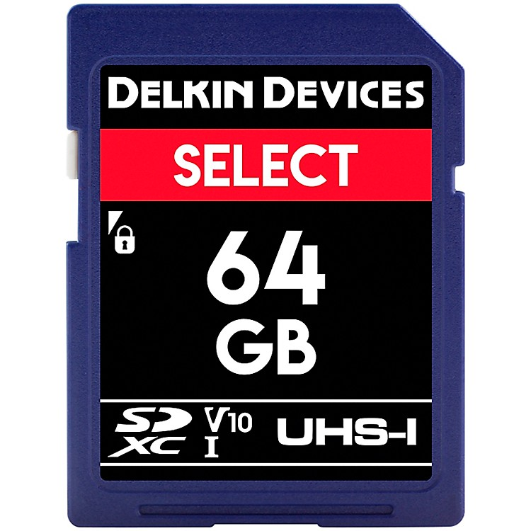 DelkinSELECT SDHC Memory Card64 GB