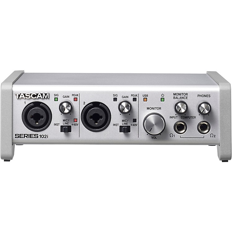 TascamSERIES 102i 10-In/2-Out USB Audio/MIDI Interface