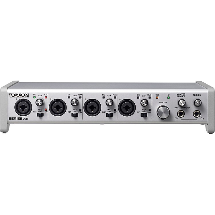 TascamSERIES 208i 20-In/8-Out USB Audio/MIDI Interface