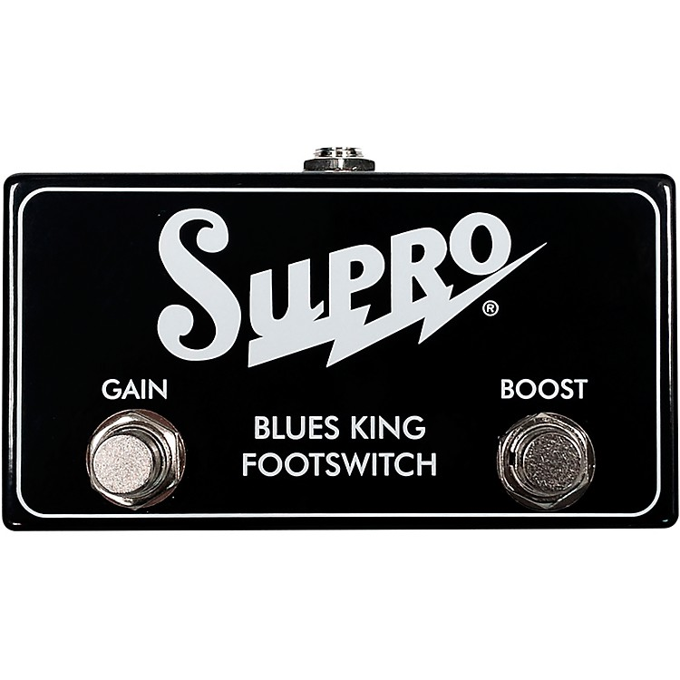 SuproSF4 Footswitch for Blues King 12 Combo Amp