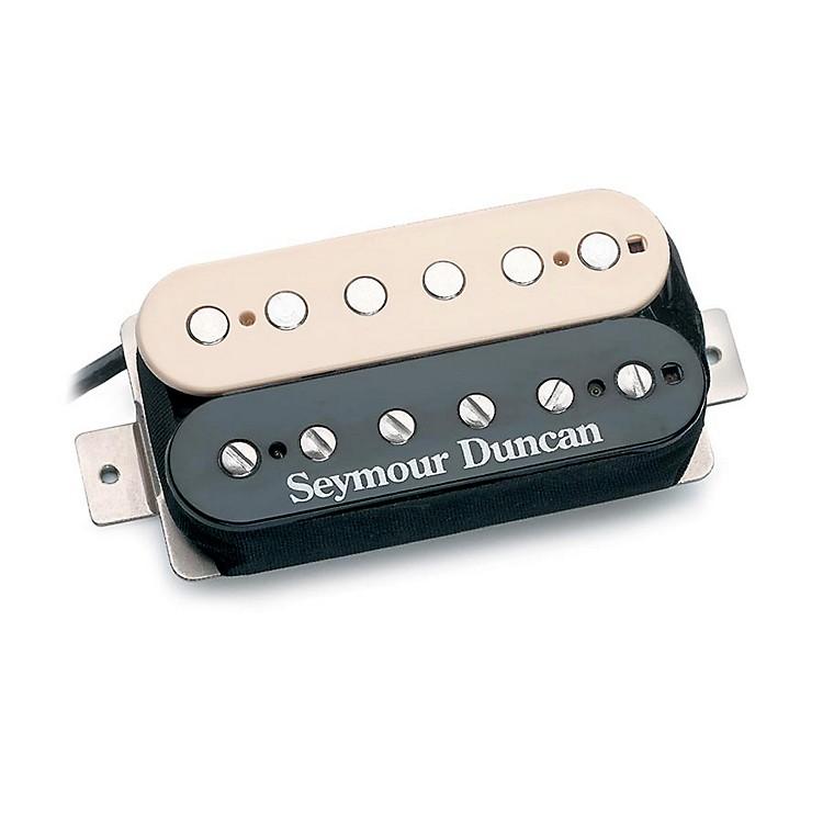 Seymour DuncanSH-4 Humbucker Reverse Guitar PickupBlack and Cream