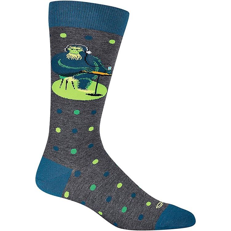 K. BellSHAG Men's Gorilla Dot Crew Socks