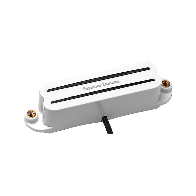 Seymour Duncan SHR-1 Hot Rails Single-Coil Sized Humbucker Pickup White Neck