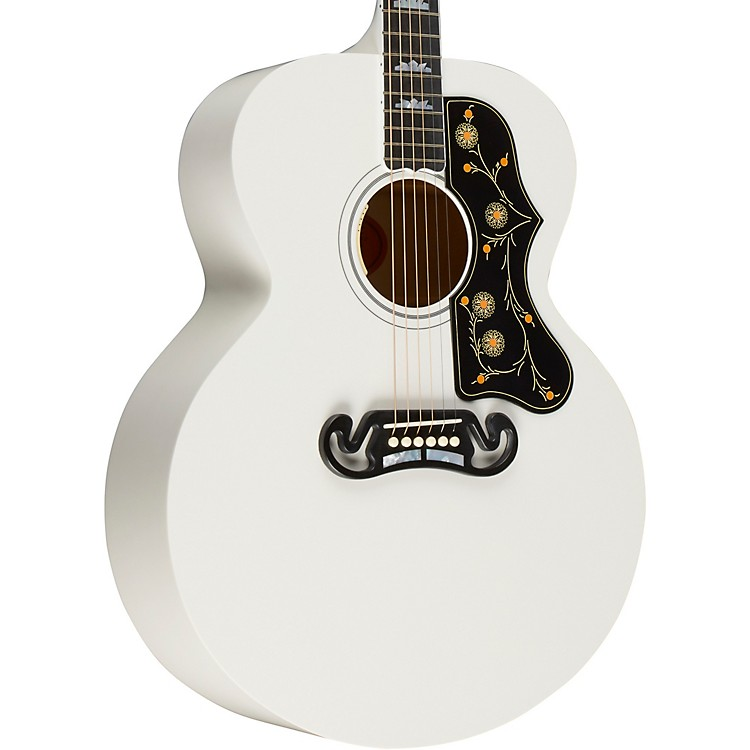 GibsonSJ-200 Limited Edition 2018 Acoustic-Electric GuitarWhite