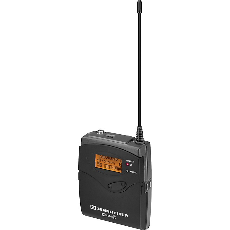SennheiserSK 500 G3 Compact Bodypack Wireless TransmitterBand B888365776545