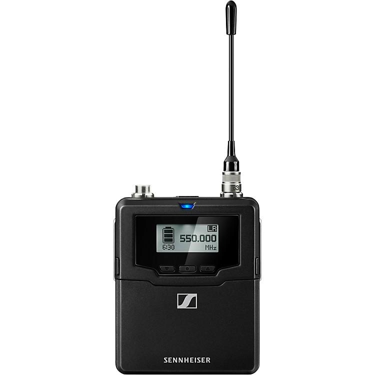 SennheiserSK 6000 BK A1-A4 Digital Bodypack transmitter, black, (470-558 MHz)AW+Black
