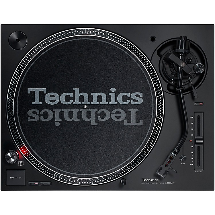 TechnicsSL-1200MK7 Direct-Drive Professional DJ Turntable