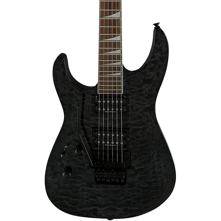 JacksonSLX LH Left-Handed Electric GuitarTransparent Black