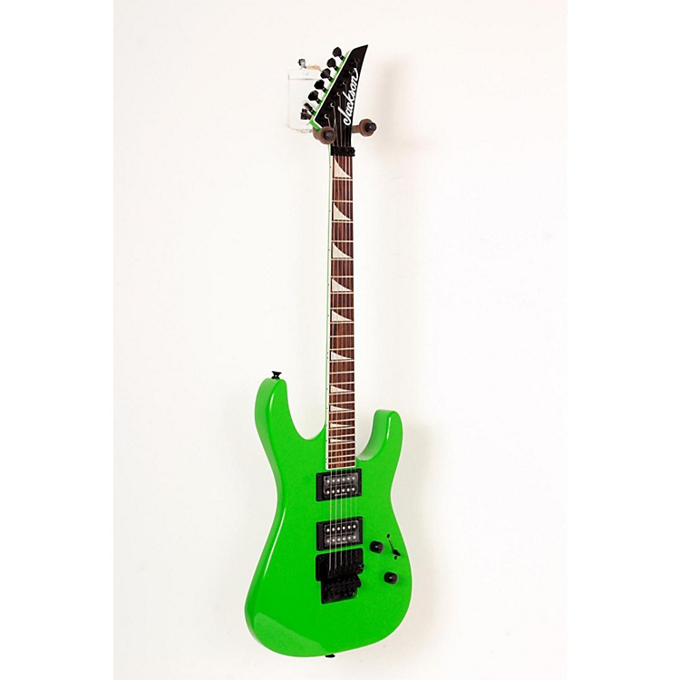 Jackson SLX Soloist X Series Electric Guitar Slime Green 888365823362