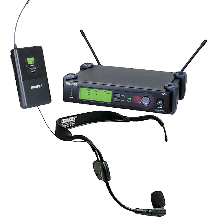 ShureSLX Wireless Headset System with WH30 Mic