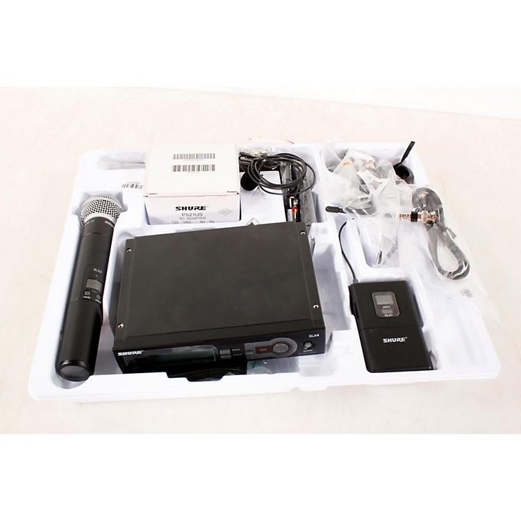 ShureSLX124/85/SM58 Dual SystemBand G5888365800882