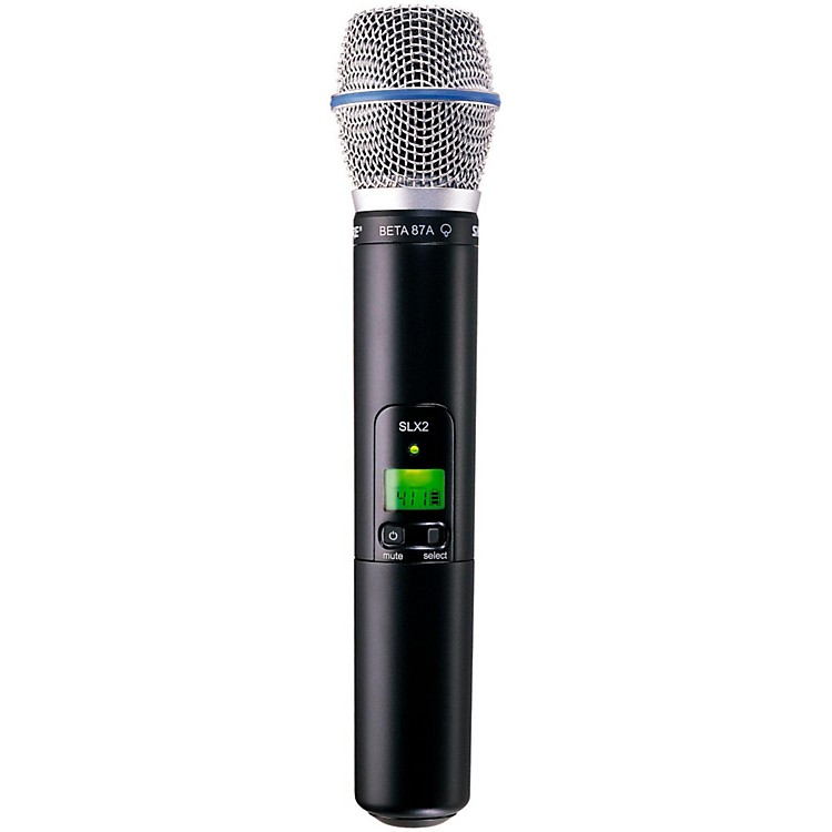 Shure SLX2/BETA87A Wireless Handheld Transmitter Microphone Band H19