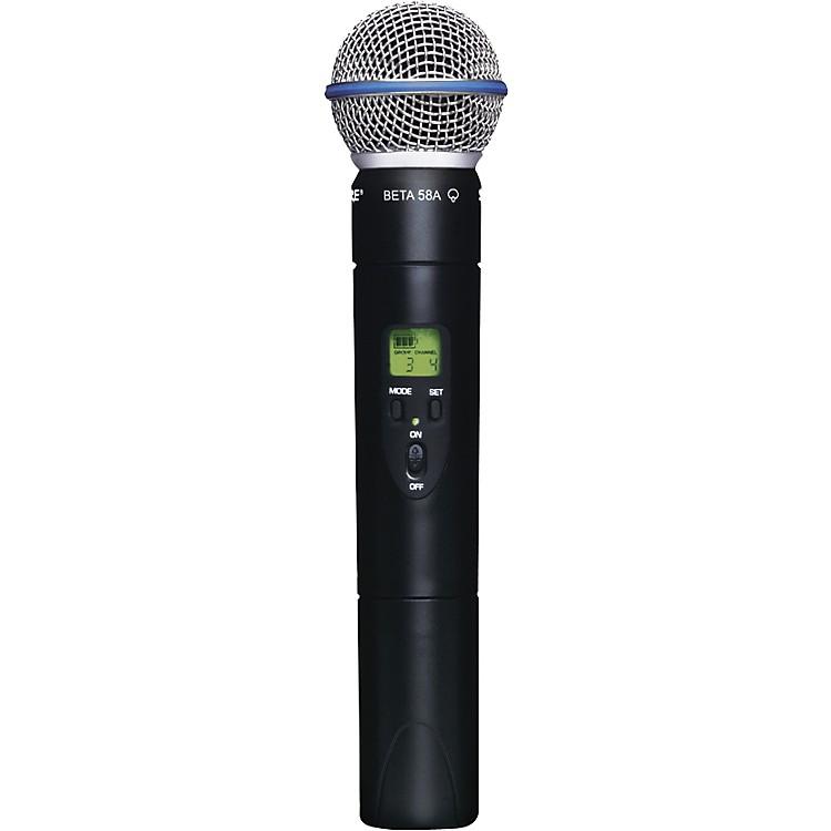 ShureSLX2/Beta58 Wireless Handheld Transmitter MicrophoneJ3