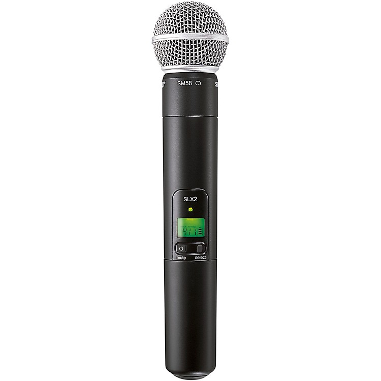 ShureSLX2/SM58 Wireless Handheld MicrophoneH5