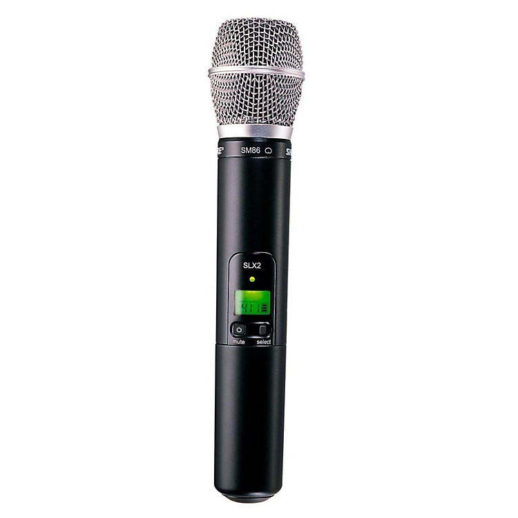 Shure SLX2/SM86 Wireless Handheld Transmitter Microphone Band H19
