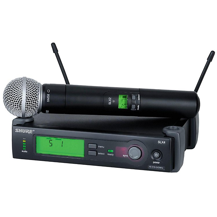 ShureSLX24/SM58 Wireless Microphone SystemBand H19