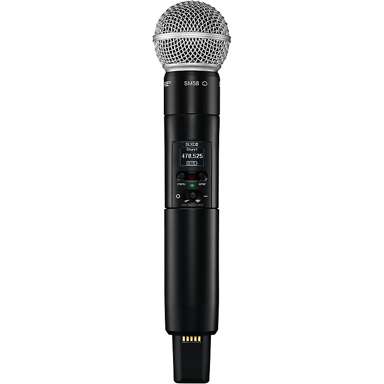 Shure SLXD2/SM58 Handheld Transmitter with SM58 Capsule Band G58