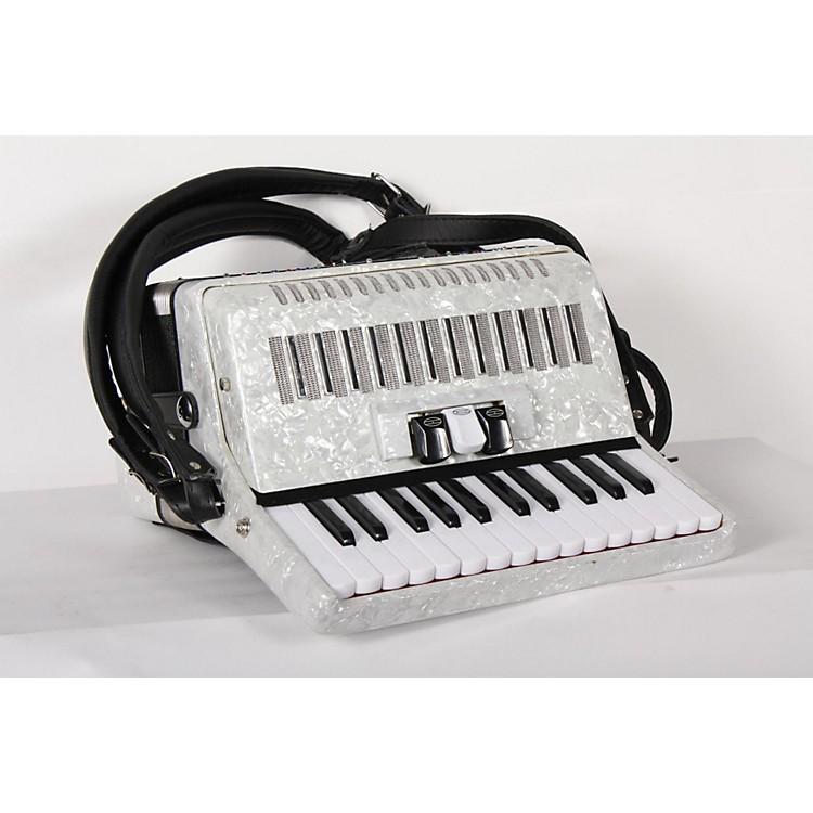 SofiaMariSM-2648, 26 Piano 48 Bass AccordionWhite Pearl888365802589