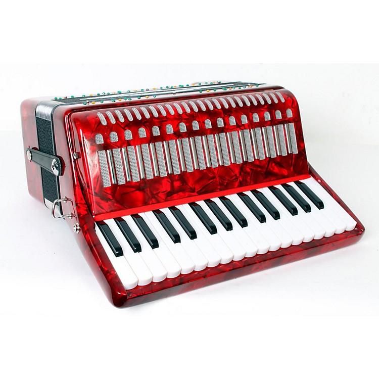 SofiaMariSM-3232 32 Piano 32 Bass AccordionRed Pearl888365813813