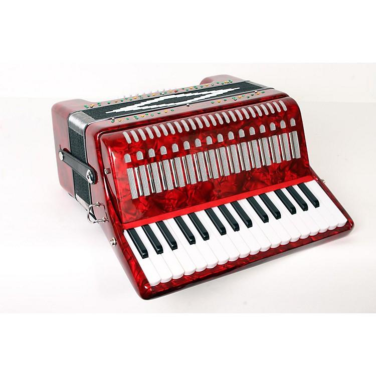 SofiaMariSM-3232 32 Piano 32 Bass AccordionRed Pearl888365902678