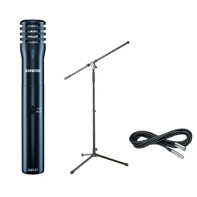 ShureSM137 Condenser Mic with Cable and Stand