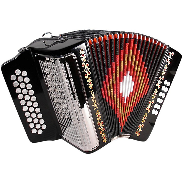 SofiaMari SM3112 Black GCF 31 Button Accordion