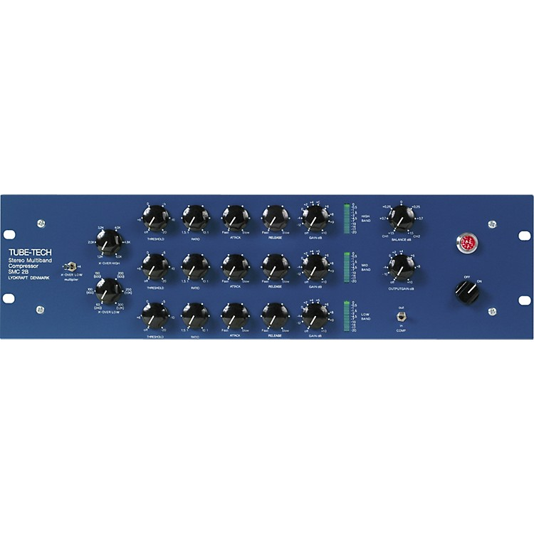 Tube-TechSMC 2B Stereo Multi-Band Compressor