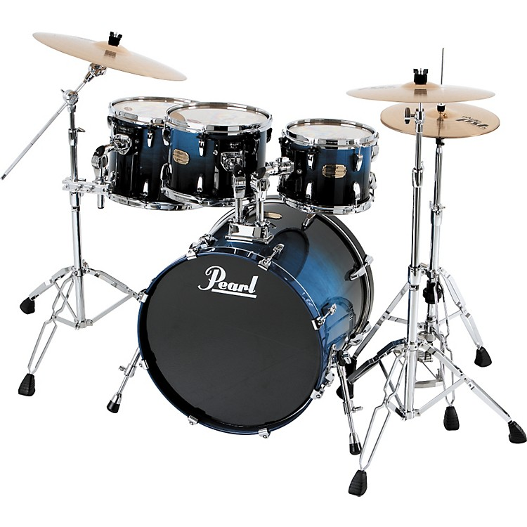 pearl smx 924hp 4 piece shell pack drum set music123. Black Bedroom Furniture Sets. Home Design Ideas