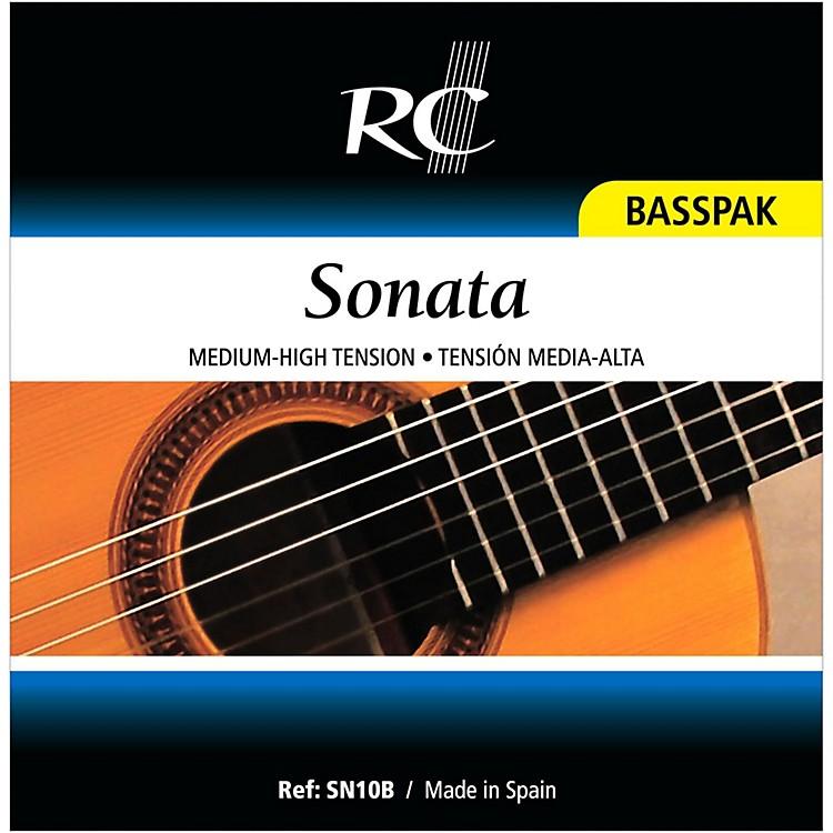 RC StringsSN10B Sonata Basspak - Medium High 4th, 5th and 6th strings for Nylon String Guitar