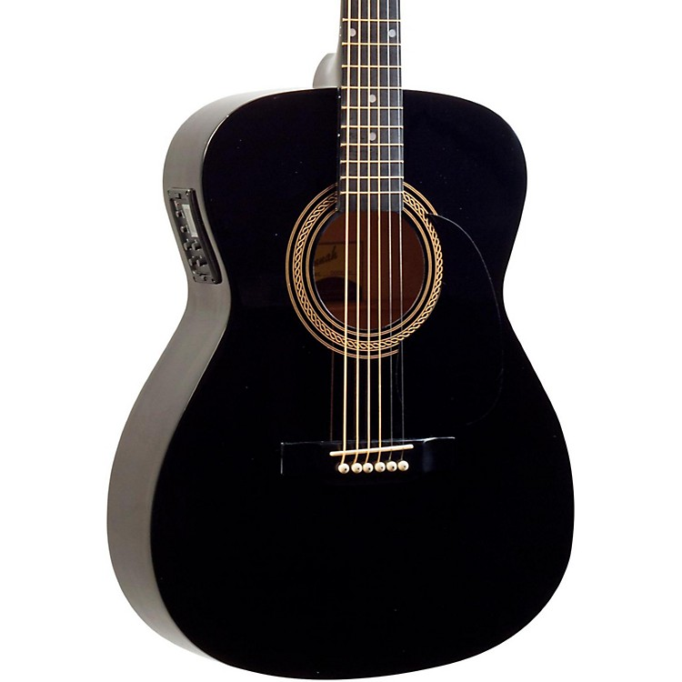 Savannah SO-SGO-10E 000 Acoustic-Electric Guitar Black