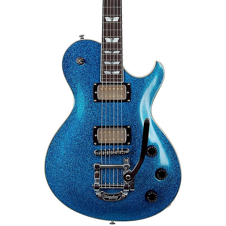 Schecter Guitar ResearchSOLO-6B Electric GuitarSilver Sparkle