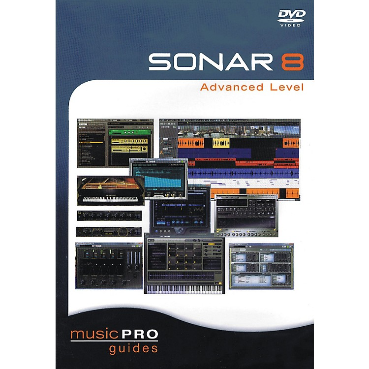 Hal LeonardSONAR 8 Advanced Level - Music Pro Guides Series (DVD)