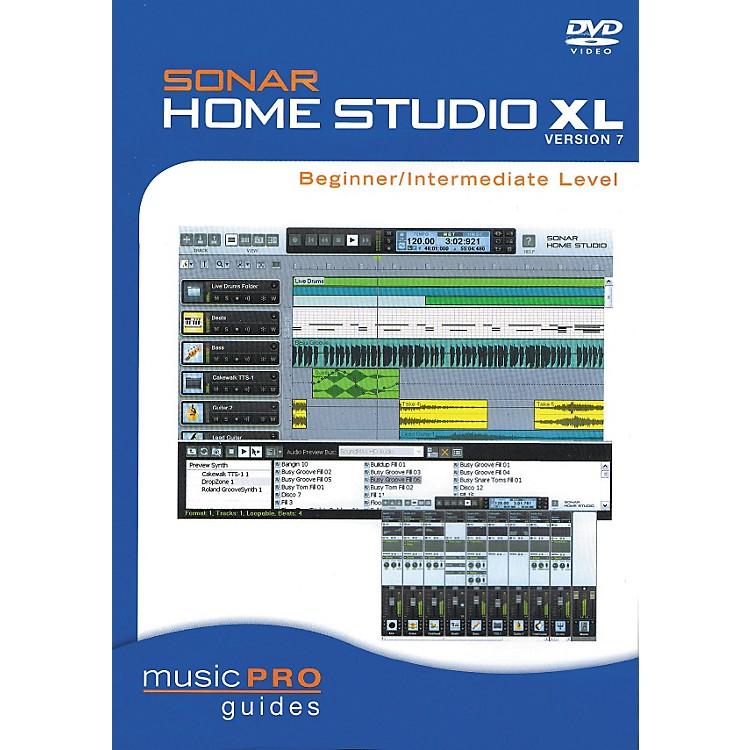 Hal LeonardSONAR Home Studio XL Version 7 - Beginner/Intermediate Level (DVD)