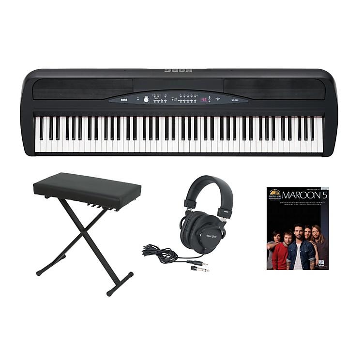 korg sp 280 keyboard package music123. Black Bedroom Furniture Sets. Home Design Ideas